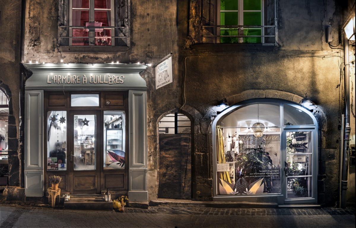 L 39 armoire cuill res bar chocolat - Jardin d hiver henri salvador clermont ferrand ...